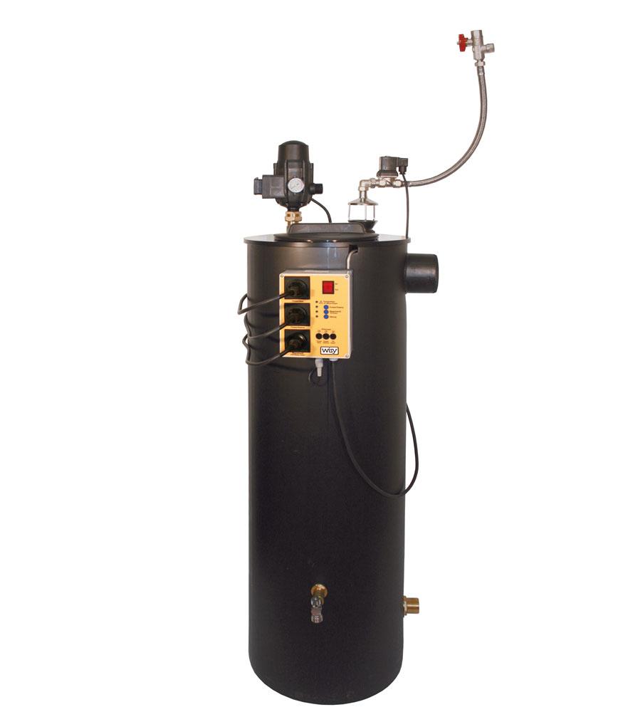 Regenwasserpumpe für Haustechnik.